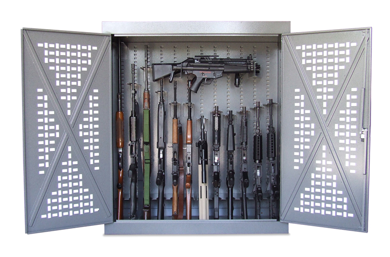 Weapons Storage Cabinets Military Police Law Enforcement
