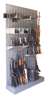Universal Weapons Racks answer the need for flexible small arms storage. House your weapons vertically or horizontally with attached accessories such as ...  sc 1 th 316 & Weapons Storage Systems Racks Cabinets Carts Cases